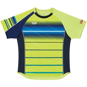 VICTAS TSP 卓球アパレル ゲームシャツ クラールシャツ 男女兼用 031428 ライム XL
