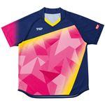 VICTAS TSP 卓球アパレル ゲームシャツ レディスアステルシャツ 女子用 032417 ピンク XL