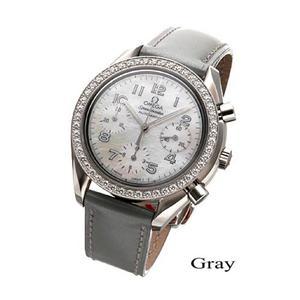 OMEGA(オメガ) 腕時計 スピードマスター ダイヤベゼル 3815.72.55 グレー - 拡大画像