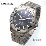 OMEGA シーマスター クロノメーター 300M チタン 2231.50/ブラック【送料無料】