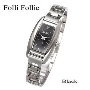 Folli Follie ブレスウォッチ S699L/SB-BK/ブラック