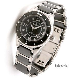 フォリフォリ 腕時計 セラミック ウォッチ WF4T0015BDK/ブラック