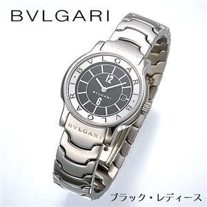 BVLGARI ソロテンポ ブレス ST29BSSD/BL/ブラック・レディース - 拡大画像