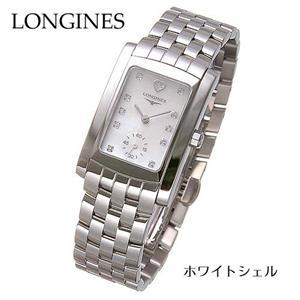 LONGINES(ロンジン) ドルチェヴィータ ダイヤ13P ブレスウォッチ L5.502.4.94.6/ホワイトシェル - 拡大画像