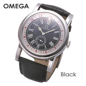 OMEGA(オメガ) 腕時計 パイロット オートマチック 51613411001001 ブラック