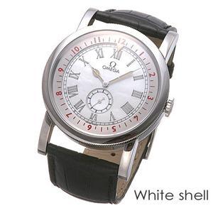 OMEGA(オメガ) 腕時計 パイロット オートマチック 51613411005001 ホワイトシェル - 拡大画像