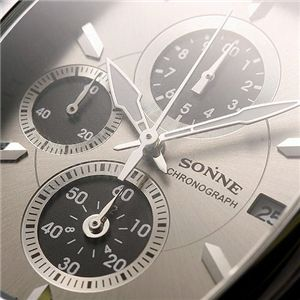 SONNE(ゾンネ) トノークロノ ガンメタル S114N画像3