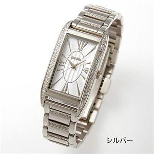 フォリフォリ 腕時計 パヴェブレスウォッチ WF7A020BPS/シルバー
