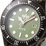 AERO NAUTICS(アエロノーティック) TYPE NAVY メンズウォッチ 7823SG/サージグリーン 画像2