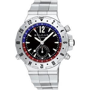 BVLGARI(ブルガリ) メンズ 腕時計 ディアゴノ GMT40SSD