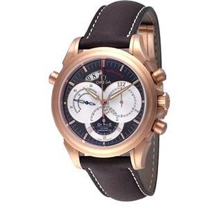 OMEGA(オメガ) メンズ 腕時計 デ・ビル コーアクシャル ラトラパンテ 46486037-BR - 拡大画像