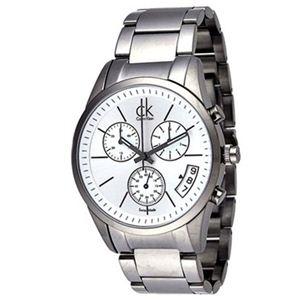Calvin Klein(カルバンクライン) メンズ 腕時計 ボールド クロノグラフ K22476.20 - 拡大画像