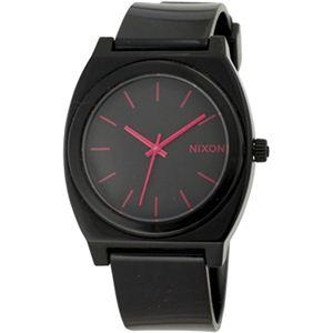 NIXON(ニクソン) A119480 ブラック/ピンク 腕時計 ユニセックス【国際保証書付き】 - 拡大画像