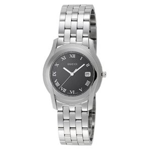 GUCCI(グッチ) 腕時計 YA55302MSS-BLK - 拡大画像