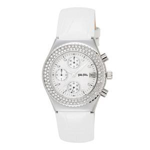 Folli Follie(フォリフォリ) 腕時計 F212CHR SLV/WH-PK-BU