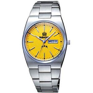 Admiral(アドミラル) メンズ 腕時計 70 vintage ADM400YE - 拡大画像