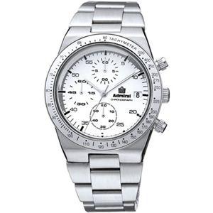 Admiral(アドミラル) メンズ 腕時計 ヴィンテージ・クロノ ADM500WH - 拡大画像