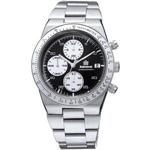 Admiral(アドミラル) メンズ 腕時計 ヴィンテージ・クロノ ADM500BS - 拡大画像