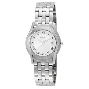 Gucci(グッチ) Gクラス YA055305MSS-SLV 腕時計 メンズ - 拡大画像