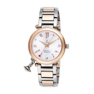 Vivienne Westwood(ヴィヴィアン・ウエストウッド) オーブ VV006RSSL 腕時計 レディース - 拡大画像