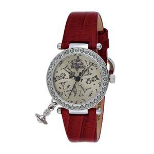 Vivienne Westwood(ヴィヴィアン・ウエストウッド) オーブ VV006SLRD 腕時計 レディース - 拡大画像