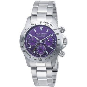 ドルチェ.セグレート 腕時計 コスモスメタリックパープルCG100PP - 拡大画像