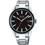 ELLE エル 腕時計 アレクシーブラック/ボルドーHALE40BR【送料無料】