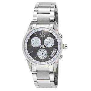 Calvin Klein(カルバンクライン) 腕時計 ボールドクロノブラックK22471.07 - 拡大画像