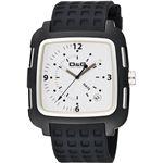 D&G ディーアンドジー 腕時計 SQUAREホワイトDW0361【送料無料】
