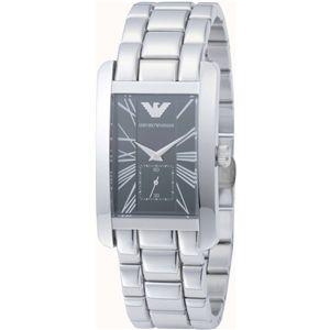 EMPORIO ARMANI(エンポリオ・アルマーニ) 腕時計 ブラックAR0156 - 拡大画像