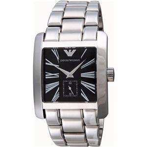 EMPORIO ARMANI エンポリオ・アルマーニ 腕時計 ブラックAR0181 - 拡大画像