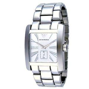 EMPORIO ARMANI エンポリオ・アルマーニ 腕時計 シルバーAR0182 - 拡大画像