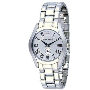 EMPORIO ARMANI エンポリオ・アルマーニ 腕時計 シルバーAR0648【送料無料】