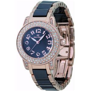 Folli Follie(フォリフォリ)  腕時計 ブラックWF9B020BPK - 拡大画像