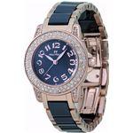 フォリフォリ 腕時計 ブラックWF9B020BPK
