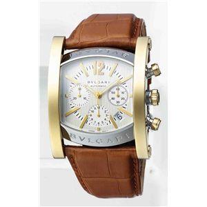 BVLGARI ブルガリ 腕時計 アショーマシルバーAA48C6SGLDCH
