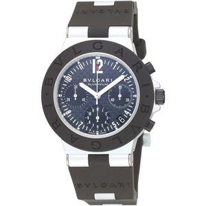 BVLGARI ブルガリ 腕時計 ディアゴノカーボンブラックAC38BTAVD
