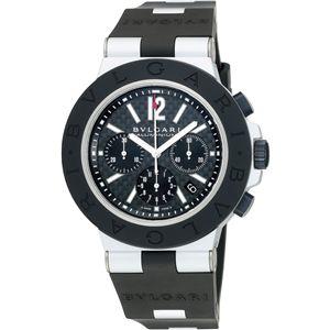 BVLGARI ブルガリ 腕時計 ディアゴノブラックAC44BTAVD