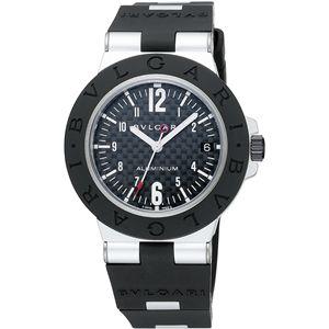 BVLGARI ブルガリ 腕時計 ディアゴノカーボンブラックAL38BTAVD
