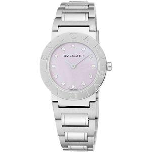 BVLGARI(ブルガリ) 腕時計 ブルガリブルガリ ローズピンクパールBB26C11SS/12JN