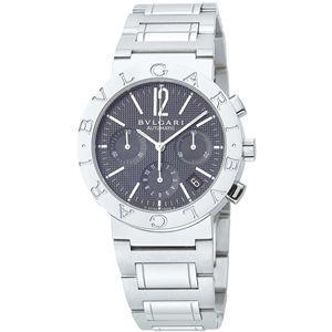 BVLGARI(ブルガリ)  腕時計 BVLGARI(ブルガリ) BVLGARI(ブルガリ) ブラックBB38BSSDCH - 拡大画像