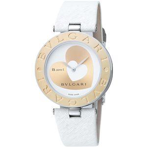 BVLGARI ブルガリ 腕時計 ビーゼロワンホワイトBZ35WHSGL-M