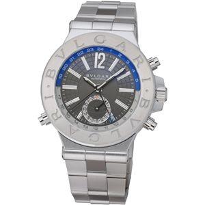 BVLGARI ブルガリ 腕時計 ディアゴノシルバーDG40C14SSDGMT