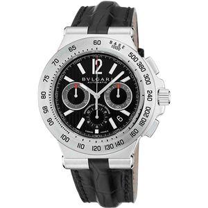 BVLGARI ブルガリ 腕時計 ディアゴノブラックDP42BSLDCH