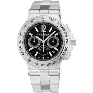 BVLGARI ブルガリ 腕時計 ディアゴノブラックDP42BSSDCH