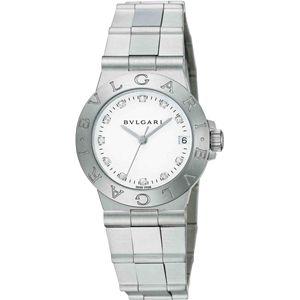 BVLGARI ブルガリ 腕時計 ディアゴノホワイトLCV29WSSDQ/11