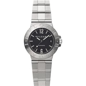 BVLGARI ブルガリ 腕時計 ディアゴノブラックLCV38BSSD