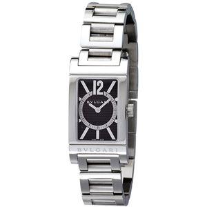 BVLGARI ブルガリ 腕時計 レッタンゴロブラックRT39BRSS