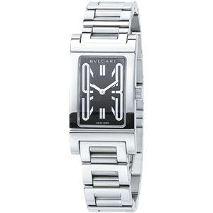 BVLGARI ブルガリ 腕時計 レッタンゴロブラックRT39BSS