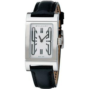BVLGARI ブルガリ 腕時計 レッタンゴロホワイトRT39SL